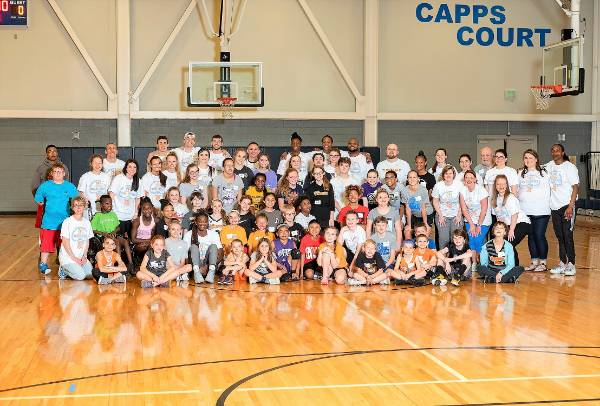 basketball clinic photo