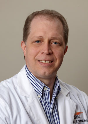 Stephen M. Adams, MD, Professor, Department of Family Medicine