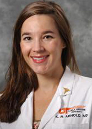Kelly Arnold, MD, Assistant Professor, Department of Family Medicine