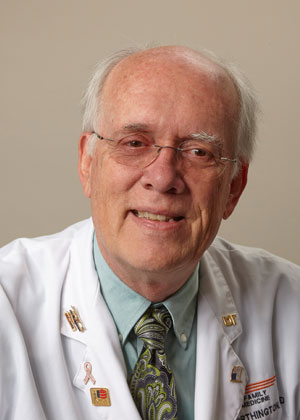 J. Mack Worthington, MD, FAAP, Immediate Past Chair and Professor, Department of Family Medicine