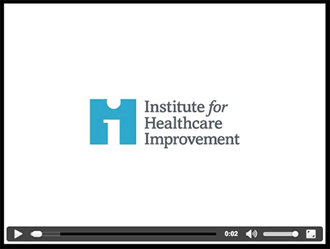 Don Berwick video image for the institute of medicine AIMS