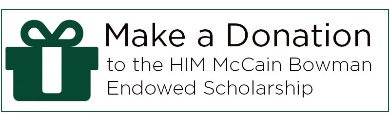 Click here to give to the McCain Bowman Endowed Scholarship fund,