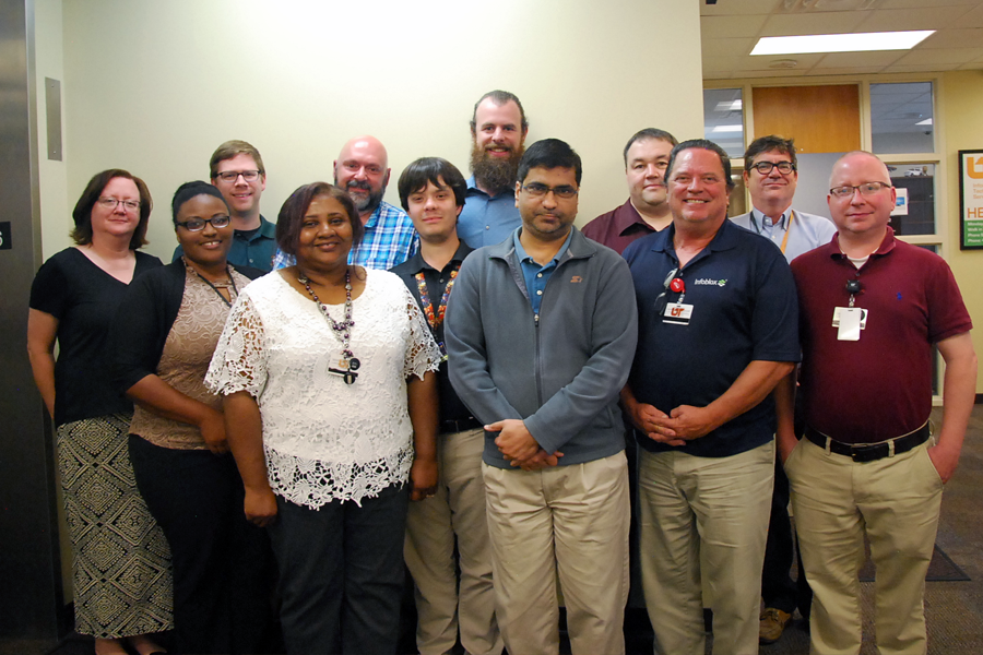 Team members of a Lean UTHSC project