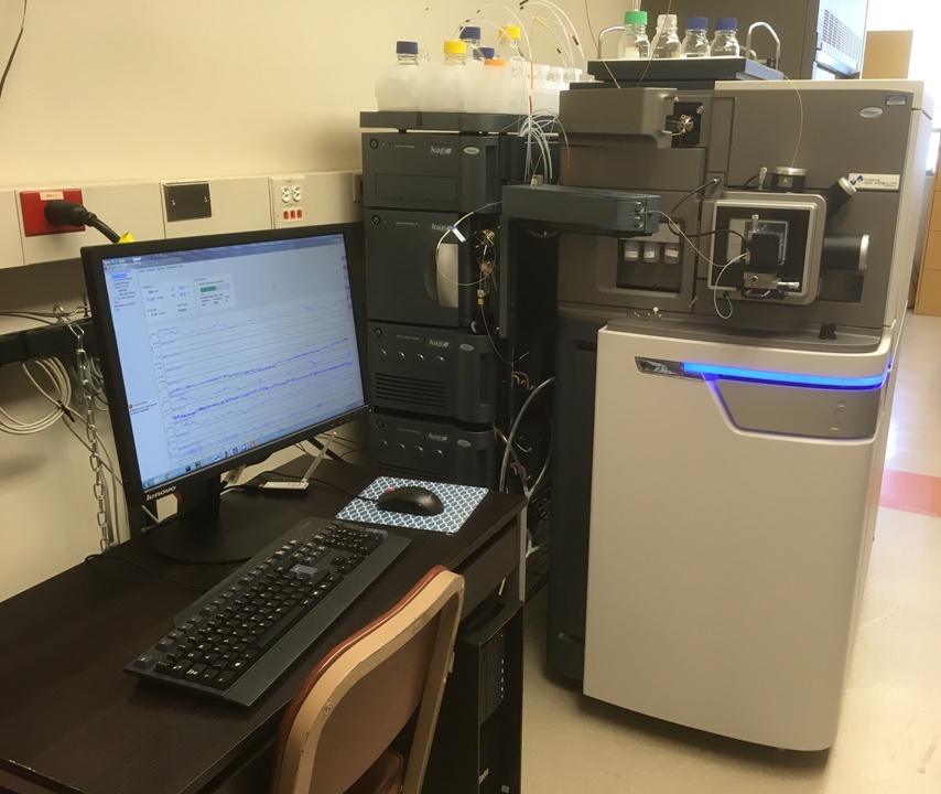 *Waters SYNAPT G2-Si HDMS with ACQUITY M-Class UPLC and Progenesis QIP software