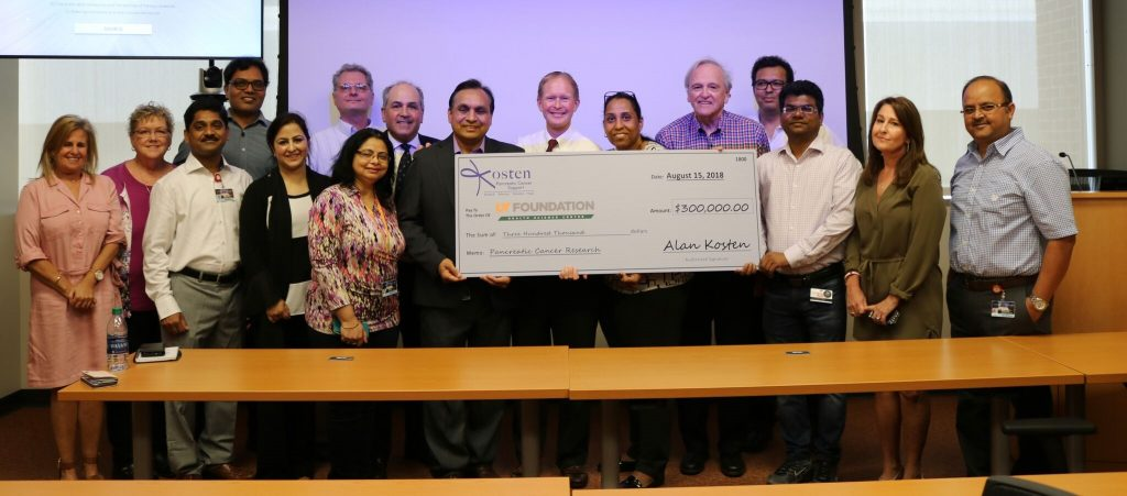 kosten foundation awards $300,000 grant