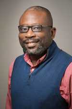 A headshot photo of Dr. Adebiyi.