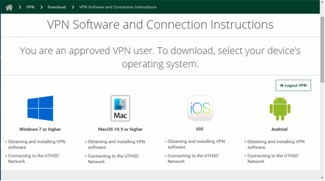 UTHSC VPN Windows Software Instructions | Download | VPN | UTHSC